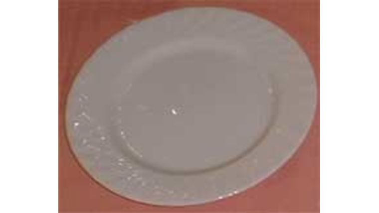 "Picture of a Salad/Dessert Plate 7.5"" - pure white"
