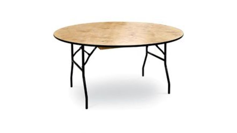 """Picture of a Table - 60"""" Round (seats eight)"""