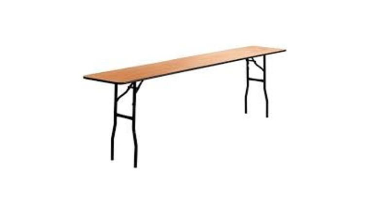 """Picture of a Table - 8' x 18"""" Classroom"""