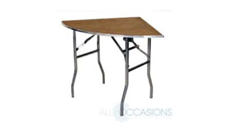 """Picture of a Table - Quarter Round (30"""")"""