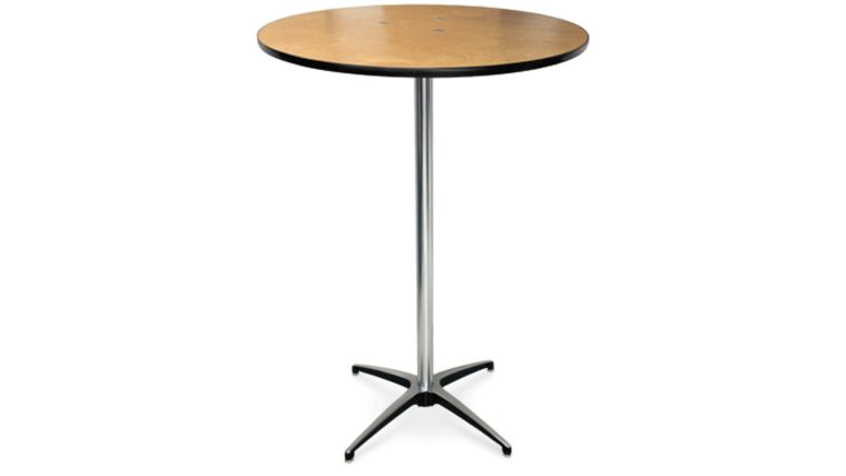 "Picture of a Table - Stand-up 30"" Round Cocktail (42"" high)"