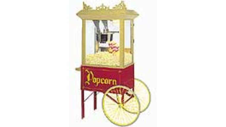 Image of a Cart for Popcorn Machine