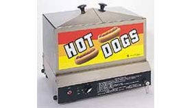 Image of a Hot Dog Steamer