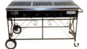 Image of a Propane Grill - Open (2' x 4')
