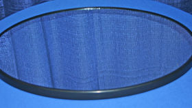 Image of a Mirror Oval Trays