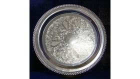 "Image of a 15"" Round Gallery Tray"