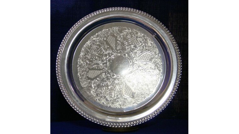 """Picture of a 15"""" Round Gallery Tray"""