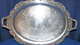 Image of a Oval Waiter Tray