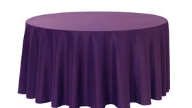 "Image of a Cotton - Purple Tablecloths (60"" x 120"")"