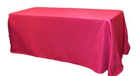"Image of a Cotton - Fuchsia Tablecloths (90"" Round)"