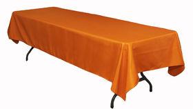 "Image of a Cotton - Orange Tablecloths (60"" x 120"")"