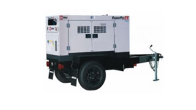 Image of a MMD PowerPro 25 Tow Behind Generator