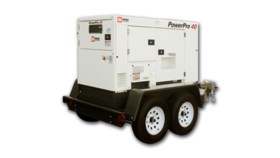 Image of a MMD PowerPro 40 Tow Behind Generator