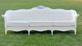 Image of a The Nadia: Cream Tufted Sofa