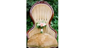 Image of a Alice: Gold Velvet Parlor Chair