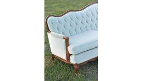Natalie: Mint Tufted Sofa image