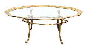 Image of a The Janice Brass Coffee Table