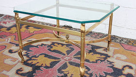 Image of a The Gladys Brass Coffee Table
