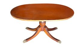Image of a Clawfoot Coffee Table