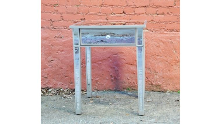 Picture of a Rihannon: Mirrored Side Table
