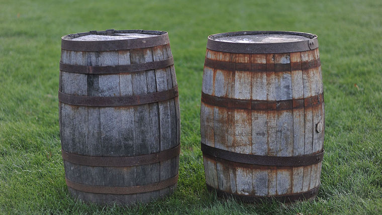Whiskey: Antique Wine/Whiskey Barrels : goodshuffle.com