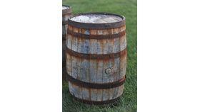 Whiskey: Antique Wine/Whiskey Barrels image