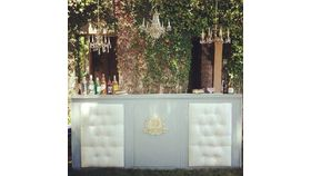 Image of a Grayson: Upholstered Bar