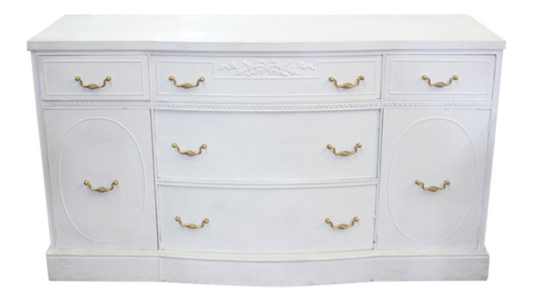 Picture of a Felicity: White Antique Dessert Buffet