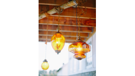 Image of a Amber Pendant Lights