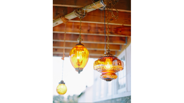 Picture of a Amber Pendant Lights