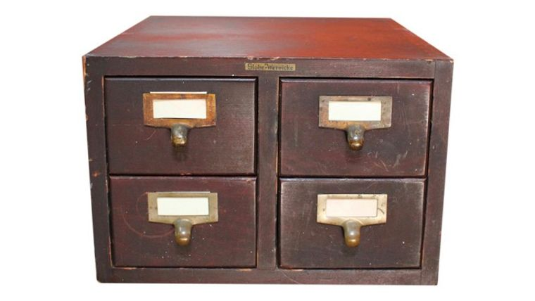 Picture of a Card Catalog