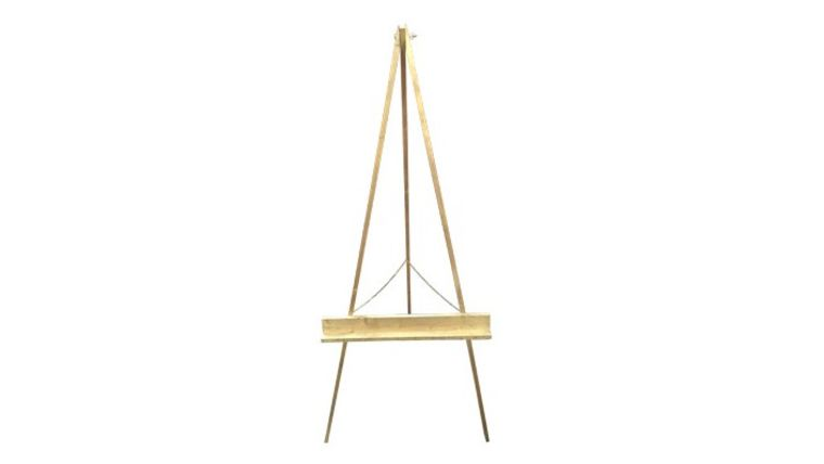 Picture of a Large Gold Easel