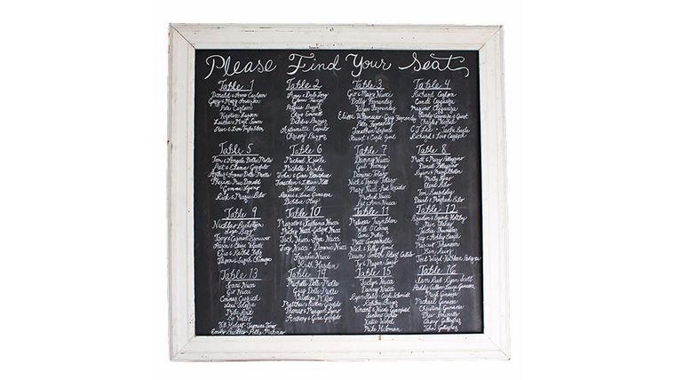 Picture of a The Neal XL Chalkboard