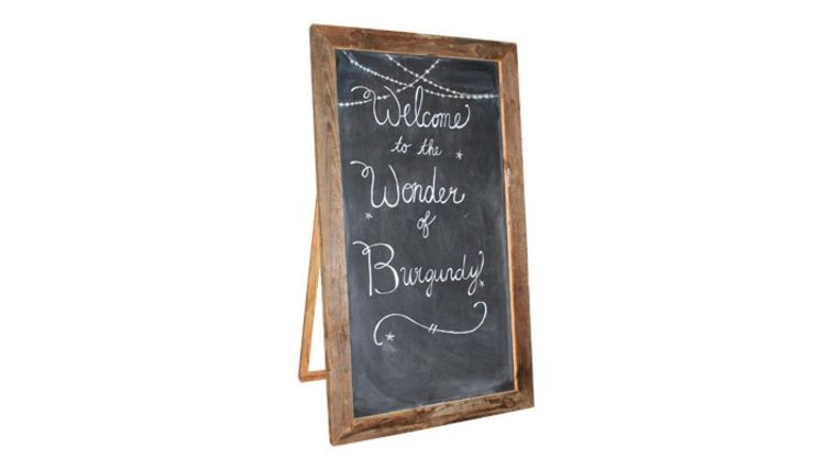 Image of a The Barns Oversized Rustic Chalkboard