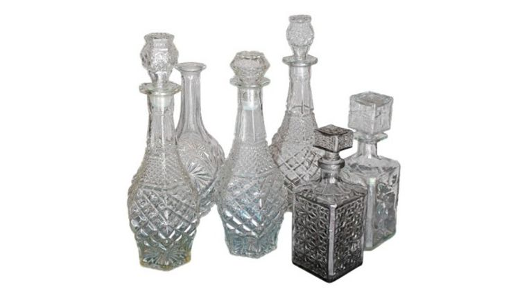 Picture of a Vintage Decanters