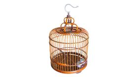 Image of a Round Bird Cage