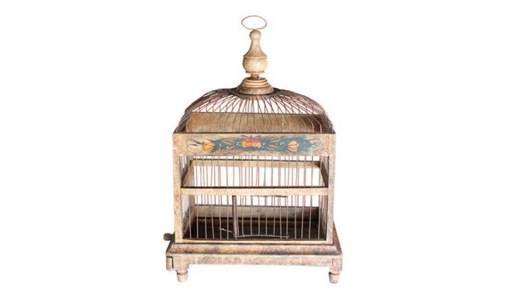 Picture of a Small Vintage Birdcage
