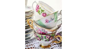 Image of a Teacups and Saucers