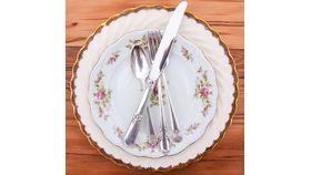 Image of a Vintage Silver-Plated Dinner Fork