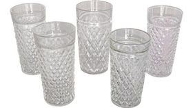 Image of a Clear Water Glasses