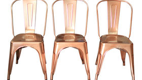 Image of a Rose Gold Chair