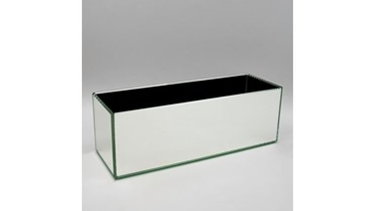 Picture of a 12x4 Mirror Rect. Vase