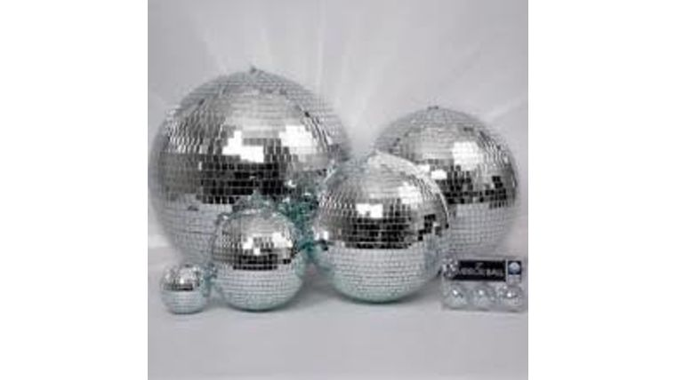 "Picture of a Disco Ball 20"" W"