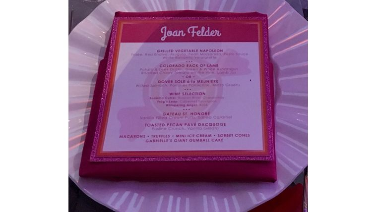 Picture of a Menu/Place Card