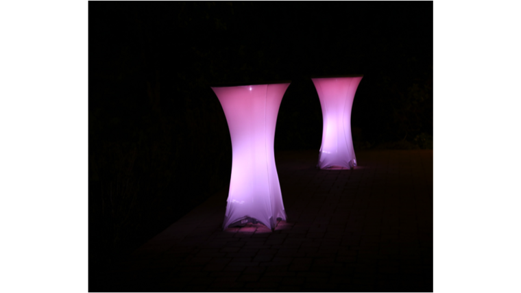 Picture of a Glow Cocktail Round