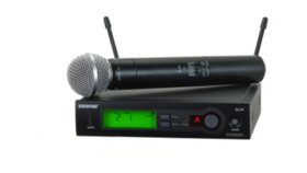 Image of a Shure SM58 Wireless Handheld Mic