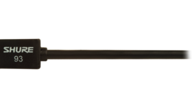 Image of a Shure SM93 Wireless Lavalier Mic