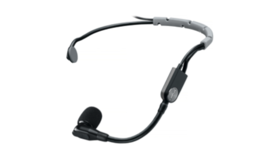 Image of a Shure SM35 Over-the-Ear Wireless Mic