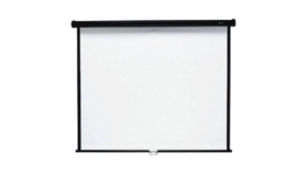 "Image of a 60"" Projection Screen - Front Projection"