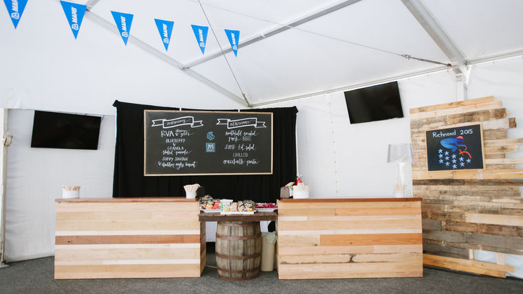 Major Corporate Event with a Rustic Feel : goodshuffle.com